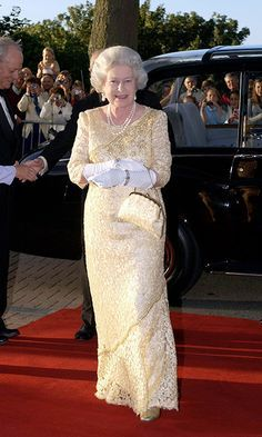 *QUEEN ELIZABETH II ~ FROM HEAD TO TOE: Majesty is always perfectly co-ordinated. When stepping out for a public engagement, she consistently colour-matches her handbag, shoes and even her topper.