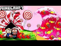 BAZA VS CUKIERKOWE TSUNAMI - MINECRAFT TSUNAMI CUKIERKÓW CHALLENGE | Vito VS Bella - YouTube