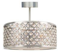 10 pretty, close to the ceiling silver light fixtures | Lights ...