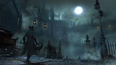 - Bloodborne - makes me think of White Chapel's Jack the Ripper...