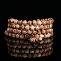 [¥29.84] Vietnamese Agarwood Beads Bracelets (Colour: Vietnam driftwood 20mm)