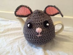 Animal Tea cosy crochet for a medium or by SpecialHandmade444