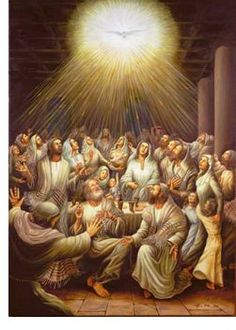 Descent of the Holy Spirit upon the Apostles and Blessed Virgin Mary