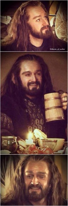 See! Thorin DOES smile
