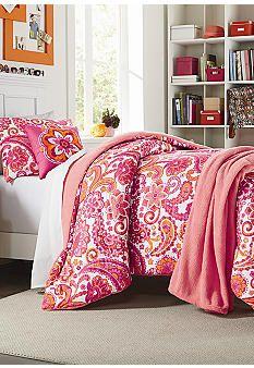 Home Accents® Isabella Comforter Set Including Bonus Hamper