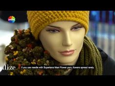 Alize Country ile Bere Boyunluk Yapımı- Making Knitting Cowl and Hat with Alize Country - YouTube