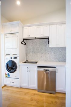 Combined Laundry & Butlers Pantry ...