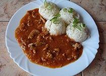 Katův šleh Russian Recipes, Chana Masala, Thai Red Curry, Cauliflower, Pork, Food And Drink, Healthy Recipes, Chicken, Meat