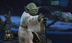 Share this with your friends and receive a $15 promo code. Click here to write your message. Star Wars Yoda Sixth Scale Figure