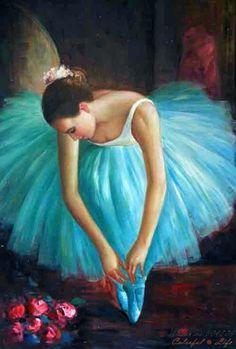 pinturas de bailarinas de ballet - Buscar con Google