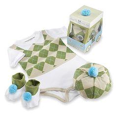 Baby Aspen Three Piece Layette Set in Golf Cart Package, Green/White, 0-6 Mos. Baby Aspen http://www.amazon.com/dp/B004071ZR6/ref=cm_sw_r_pi_dp_Fhrqwb14G2QTN