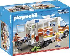 5541 Playmobil Ambulance Licht + Geluid 40