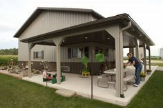 3+ BEAST Metal Building: Barndominium Floor Plans and Design Ideas for YOU! #Barndominium #BarnHomes Tags: Barndominium plans, texas, cost, for sale, house plans, prices, 40x60, 40x50, with shop, with loft, pictures, images, 2 story, with garage, small, simple Morton Homes, Morton Building Homes, Steel Building Homes, Shop Buildings, Metal Buildings, Storage Buildings, Metal Shop Building, Building A House, Building Ideas