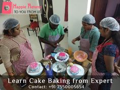 #Happiereturns provides best Baking training in Chennai, learn baking with the guidance of baking experts. Fully practical session by professional. It is Fully interactive class. We will provide you the contact details of the chef so that you can ask your doubts even after your baking class. join #Baking #Classes in #Chennai to learn complete baking.