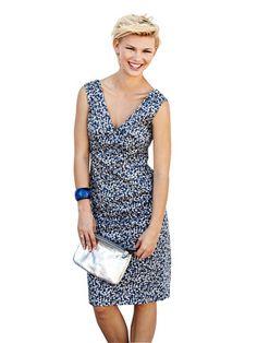 Schnittmuster: Etuikleid - Vintage, Retro-Modell - Etuikleider - Kleider - Damen - burda style