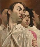 Johannes Grutzke - EINER MIT DEN SEINEN, 1977, Oil... on MutualArt.com