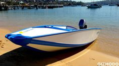 Quickboats: The Folding Boat Of The Future. Check out the vid to see how quickly this boat unpacks, sets up and gets out on the water. (Now, if only I could convince them to make me a kayak since I can't lift one down from the roof rack on my car on my own.)| Gizmodo Australia