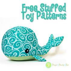 50 Free stuffed animal patterns.