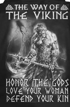 Honour Odin - the main god of the Viking religion. Valhalla, the Viking word for heaven. Viking Life, Viking Art, Viking Warrior, Norse Pagan, Viking Symbols, Norse Mythology, Viking Quotes, Nordic Vikings, Viking Culture