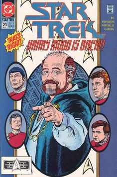 Vintage Star Trek The Original Series Comic Book No 23 September 1991 DC Comics Star Trek Tv, New Star Trek, Star Trek Movies, Comic Book Covers, Comic Books, Star Trek Images, Star Trek Original Series, Star Trek Universe, Vintage Comics