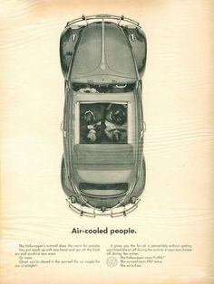 Volkswagen – One Stop Classic Car News & Tips Vw Vintage, Classy Cars, Best Classic Cars, Car Posters, Car Advertising, Love Bugs, Vw Beetles, New Tricks, Retro Design