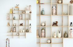 diy shelf for small item storage Small World, Knick Knack Shelf, Diy Regal, Displaying Collections, Gadget Gifts, Display Shelves, Diy Shelving, Decoration, Home Projects