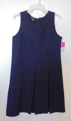 George - Navy Blue School Uniform Pleated Jumper/dress Girls Size 16 for sale online Jumper Dress, School Uniform, Size 16, Online Price, Navy Blue, Girls Dresses, Tank Tops, Women, Fashion