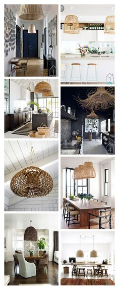 source unknown via Home Beautiful home of the creators of Day Birgen et Mikkelsen   source unknown via House Beautiful  design by Sally Markham via m{pression   Interior And Exterior, Interior Design, Bamboo Design, Beautiful Homes, House Beautiful, Rattan Furniture, Coastal Homes, First Home, Home Fashion