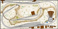 N Scale Model Railroad Track Plans And Layouts N Scale Train Layout, N Scale Layouts, Model Train Layouts, N Scale Model Trains, Scale Models, Plan Canada, Escala Ho, Model Railway Track Plans, Model Training