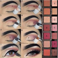 Eyeshadow techinique