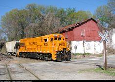RailPictures.Net Photo: PICK 9507 Pickens Railroad GE U18B at Anderson, South Carolina by Nikos Kavoori