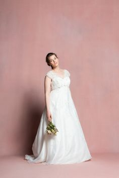 Robe de mariée femme ronde Navabi dit oui - La Fiancée du Panda blog Mariage et Lifestyle #weddingdress #bridaldress #glamour