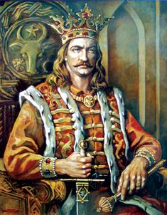 Stephen the Great – first cousin of Vlad Dracula, Moldavia's ruling prince for 47 years. Won 46 battles and lost 2 battles. Defended Moldavia against neighboring empires and won European fame for resistance against Ottomans. History Of Romania, Romania People, Vlad The Impaler, Historia Universal, Count Dracula, The Beautiful Country, Knights Templar, 14th Century, Folklore