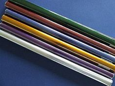 6 Rolls Assorted Coloured Cellophane - about 4m, 6 rolls for £9.35