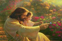 My favorite Greg Olsen painting. Precious in his sight- Greg Olsen Greg Olsen Art, Arte Lds, Lds Art, Jesus Christus, Jesus Pictures, Lds Jesus Christ Pictures, Church Pictures, Children Images, Young Children