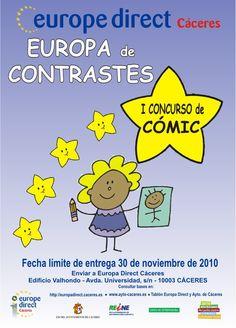 """I Concurso de Cómic """"Europa de Contrastes"""" 2010"""