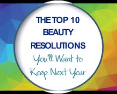 The Top 10 Beauty Resolutions You'll Want to Keep Next Year | Obagi.com