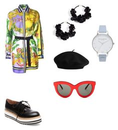 """Untitled #15"" by maria-daria-i on Polyvore featuring Versace, Victoria Beckham, Steve Madden, Oscar de la Renta and Olivia Burton"