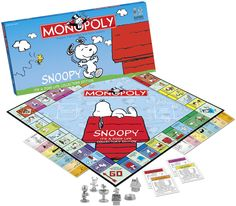Image detail for -... It's a Dog's Life Collector's Edition Peanuts Monopoly board game