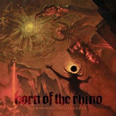 Horn Of The Rhino - Summoning Deliverance #Metal #MetalCoverArt #SludgeMetal #DoomMetal #ThrashMetal