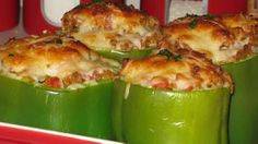 Sassy Stuffed Peppers