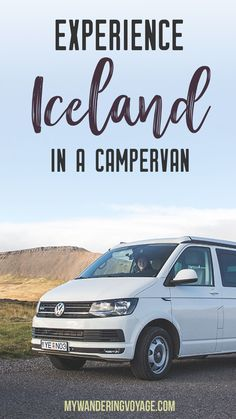 Experience Iceland through a rental campervan - campervans are the best way to see Iceland on your own schedule Iceland Budget, Iceland Travel Tips, Europe Travel Tips, European Travel, Travel Guides, Europe Destinations, Travel Info, Iceland Campervan, Camping Car