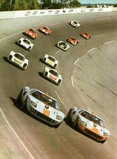 Diagnosed with Nostalgia: Photo Real Racing, Sports Car Racing, Race Cars, Auto Racing, Le Mans, Ford Gt40 1966, Shelby Car, Aston Martin Cars, Motosport