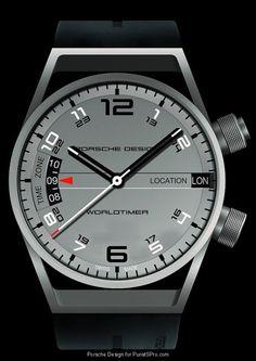 Porsche Design P6750 World Timer