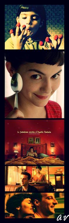 Le Fabuleux Destin d'Amélie Poulain...not my favorites Jean-Pierre Jeunet and Marc Caro film but  I love the Michael Sowa animal sequence!