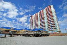 Prince Resort is an Oceanfront Condo Complex in  North Myrtle Beach, SC.  Elliott Beach Rentals has been specializing in professional management of beach homes and condos since 1959.