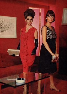 Chanel 1965. 1960s fashion
