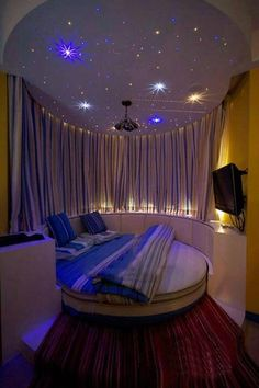 Amazing starry bedroom!