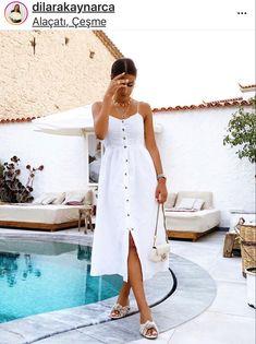 Kurabiye Otel White Dress, Dresses, Fashion, Trending Fashion, Vestidos, Moda, La Mode, Fasion, Dress