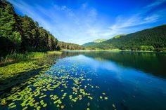 Lake Abant, Turkey in the Turkish Black Sea region.